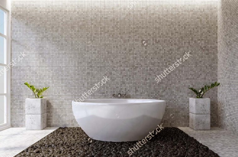 Wash Basin and Bath Up